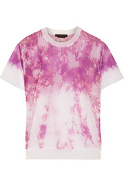 Alexander Wang Tie-dyed mesh top