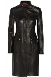 Tamara Mellon Double-faced leather coat