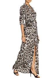 Diane von Furstenberg Amina printed silk maxi dress