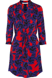 Freya floral-print stretch-crepe dress