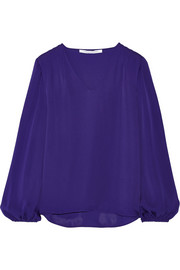 Arlenis silk blouse