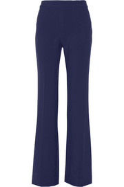 Diane von Furstenberg Joan stretch-cady flared pants