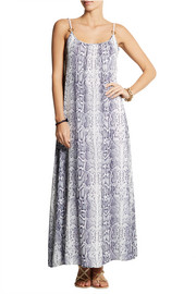 Heidi Klein Tanzania printed georgette dress