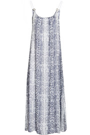 Tanzania printed georgette dress