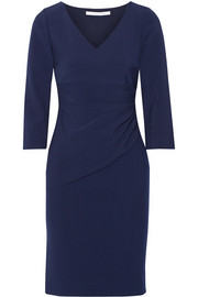 Bevin stretch-crepe dress