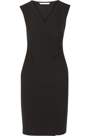 Megan stretch-ponte dress