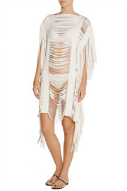 Bregi shredded bandage coverup