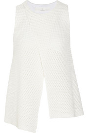 Thakoon Addition Addition knitted cotton-blend top