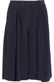 Addition pleated crepe culottes