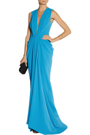 Thakoon Draped satin-crepe gown