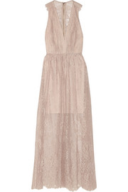 Alice + Olivia Julissa lace maxi dress