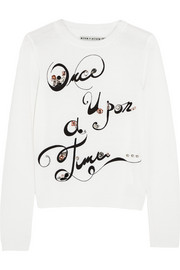 Alice + Olivia Once Upon A Time embellished wool sweater