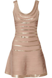 Sachie sequined bandage dress
