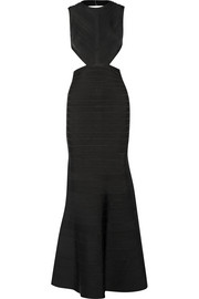 Hervé Léger Cassandra backless bandage gown