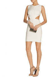 Hervé Léger Audry cutout bandage mini dress