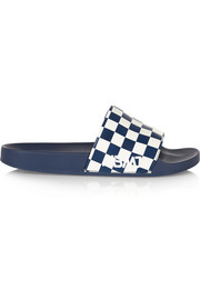 Marc by Marc Jacobs Tech printed rubber slides