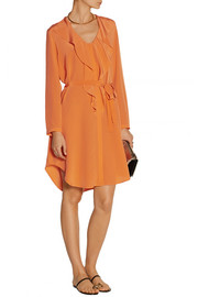 Saloni Louisa silk dress