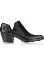 3.1 Phillip Lim Dolores cutout leather ankle boots