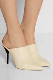 3.1 Phillip Lim Martini leather mules