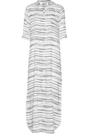 DKNY Nolita Girl space-dyed voile nightdress