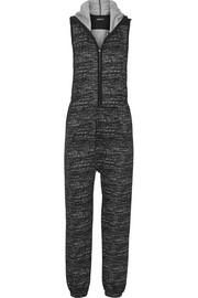 Chelsea Trotter flecked stretch-jersey jumpsuit