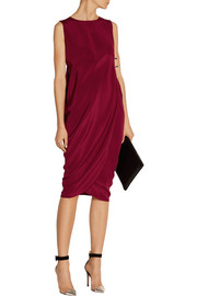 Zero+MariaCornejo Kali silk crepe de chine dress