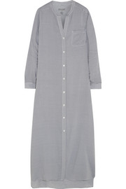 Rooftop Gardener striped voile nightdress