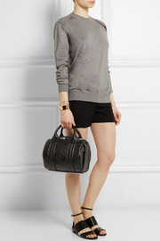 Rockie embossed leather tote