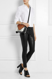 Alexander Wang Prisma lizard-effect leather shoulder bag