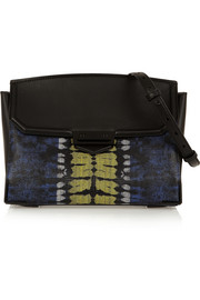 Alexander Wang Prisma Skeletal Marion lizard-effect leather shoulder bag