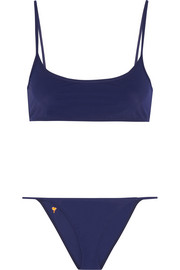 Tomas Maier Embroidered bikini
