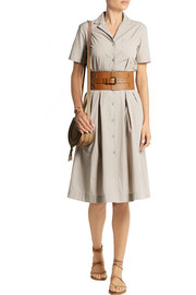 Tomas Maier Cotton-poplin shirt dress