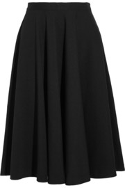 Stretch-jersey skirt