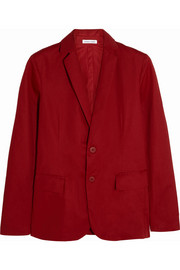 Cotton-gabardine blazer