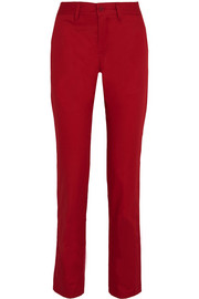 Tomas Maier Cotton-gabardine tapered pants