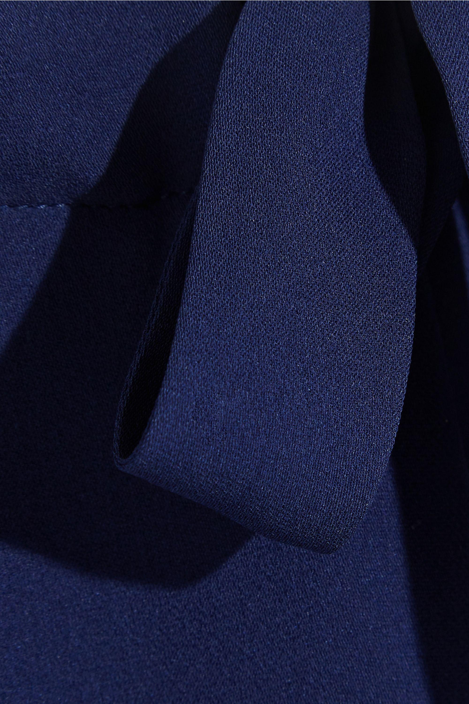 Tomas Maier Silk-crepe tapered pants