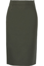 Tomas Maier Cotton pencil skirt