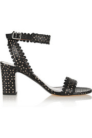 Leticia perforated leather sandals