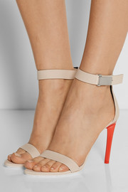 Proenza Schouler Color-block nubuck sandals