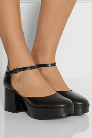 Jil Sander Leather Mary Jane pumps
