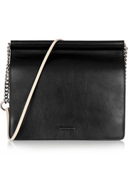 Jil Sander Two-tone leather shoulder bag