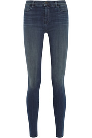 J Brand The Maria high-rise skinny jeans
