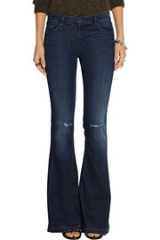 J Brand Martini mid-rise flared jeans
