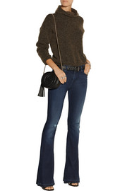 Martini mid-rise flared jeans