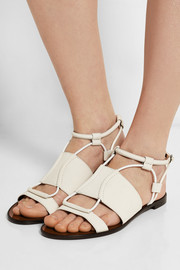 Lanvin Textured-leather sandals