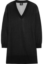 McQ Alexander McQueen Cotton-jersey sweater dress