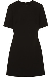 McQ Alexander McQueen Zip-detailed crepe mini dress