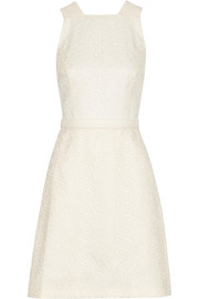 Jason Wu Embroidered lace and cotton-blend dress