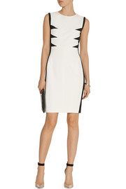 Narciso Rodriguez Paneled stretch-crepe dress