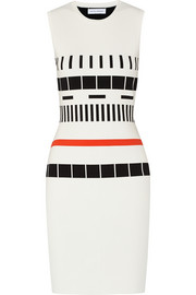 Narciso Rodriguez Reversible printed tech-jersey dress